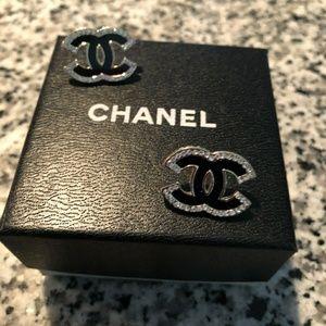 Chanel Earring Black